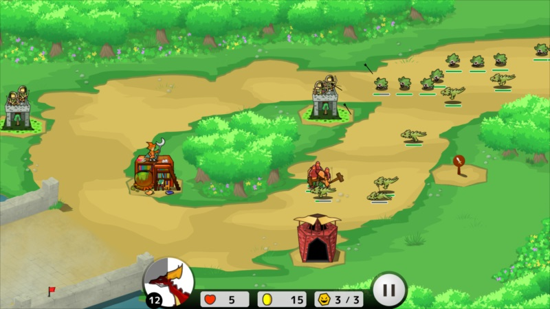 ゴルゴンTD ゲーム画面10