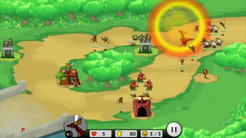 ゴルゴンTD ゲーム画面11