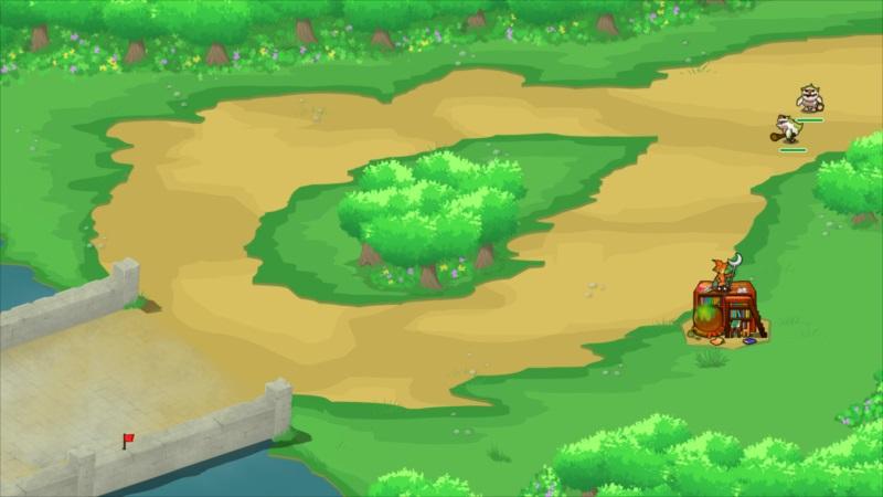 ゴルゴンTD ゲーム画面4