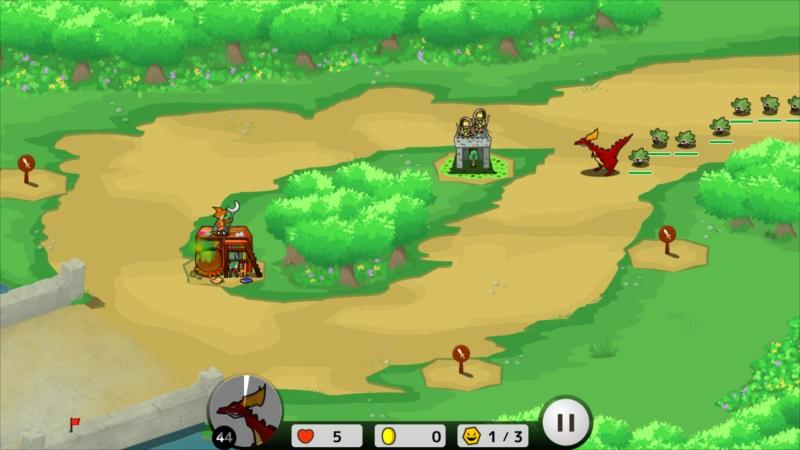 ゴルゴンTD ゲーム画面8