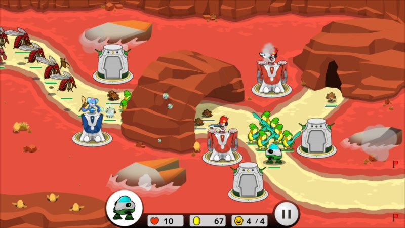 フロッディ タワーディフェンス ゲーム画面4