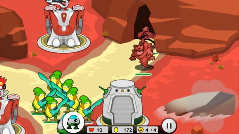 フロッディ タワーディフェンス ゲーム画面5