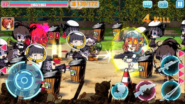 崩壊学園 ゲーム画面2
