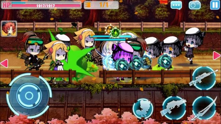 崩壊学園 ゲーム画面4