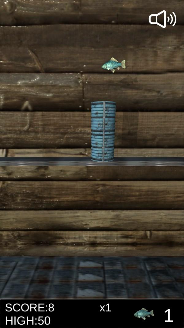 サバ缶シュート ゲーム画面5