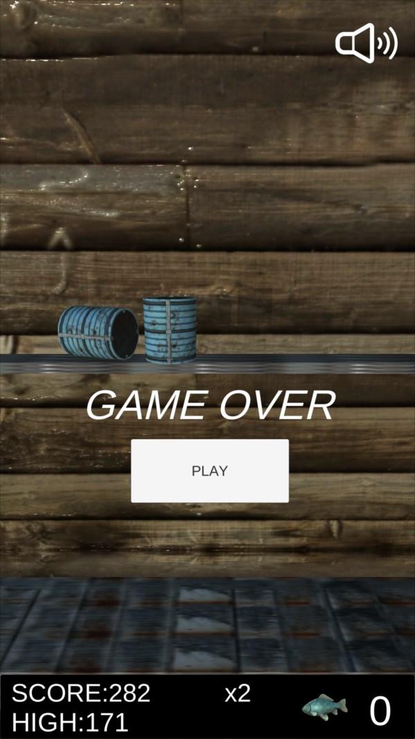 サバ缶シュート ゲーム画面6