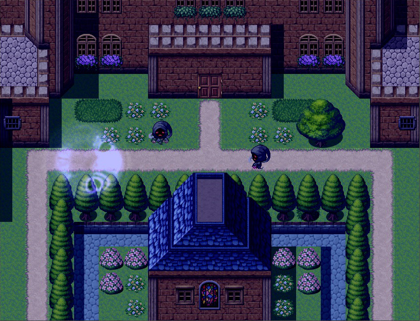奈落の魔女とロッカの果実 ゲーム画面2